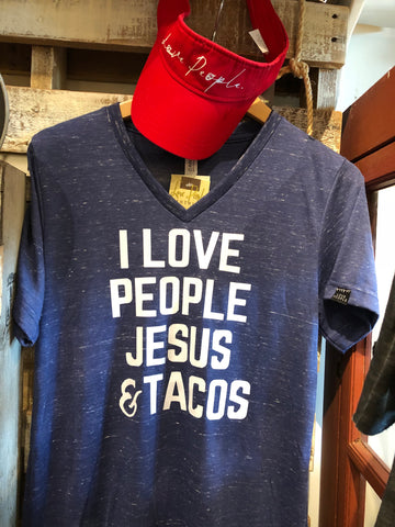 I Love People, Jesus & Tacos