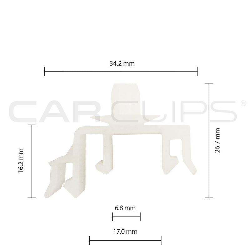 CC11045 - Car clip to fit Toyota