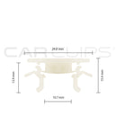 CC11326 - Car clip to fit Toyota