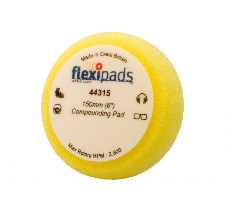 Flexipads Foam Pad Heavy Compounding 150mm
