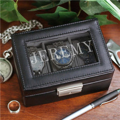Engraved Name Watch Box