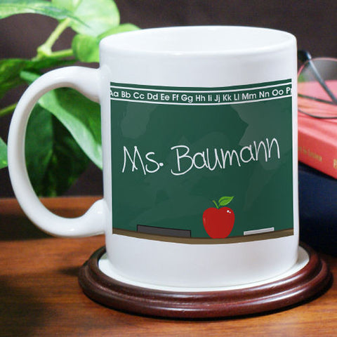 Teacher's Chalkboard Coffee Mug