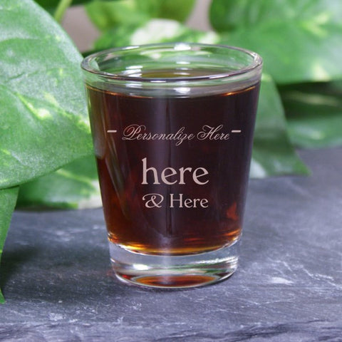 Your Custom Shot Glass