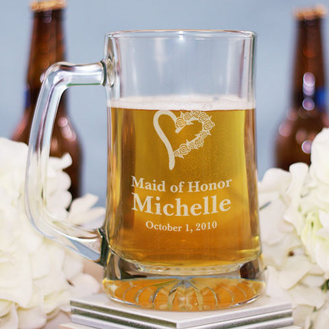 Bridal Party Beer Mug