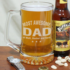 Most Awesome Engraved Beer Mug
