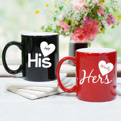 His or Hers Personalized Mug