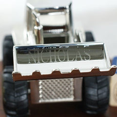 Engraved Tractor Bank