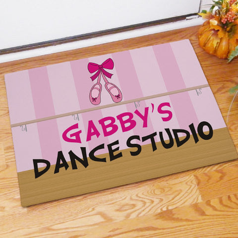 Personalized Dance Doormat