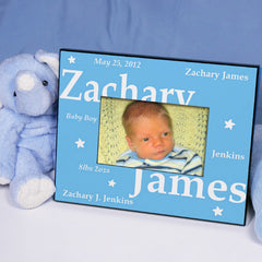 New Baby Boy Picture Frame