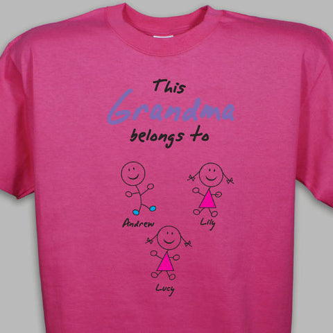 Stick Figure T-Shirt- more colors