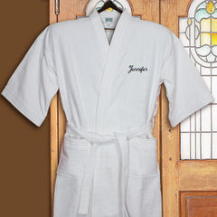 Embroidered Bathrobe