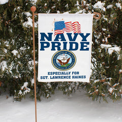 Custom Military Pride Garden Flag