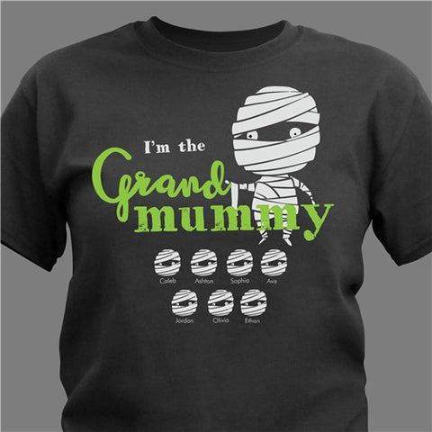 Personalized Grand Mummy T-Shirt