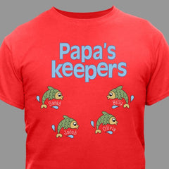 Keepers Fishing T-Shirt (7 Colors)
