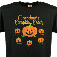 Personalized Pumpkin Patch T-Shirt- Adult