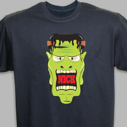 Personalized Frankenstein T-Shirt- Adult