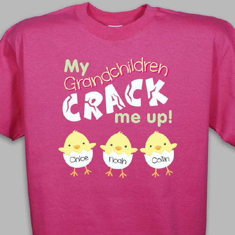 They Crack Me Up Personalized T-Shirt