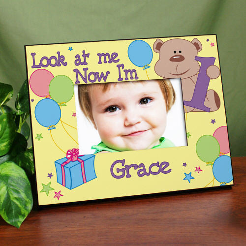 Children\'s Personalized Birthday Frame | Bellas Personal Gifts