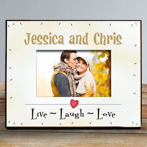 Live Laugh Love Personalized Frame | Bellas Personal Gifts