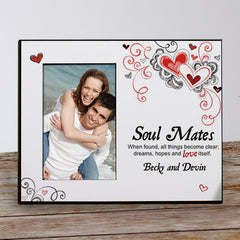 Soul Mates Personalized Picture Frame