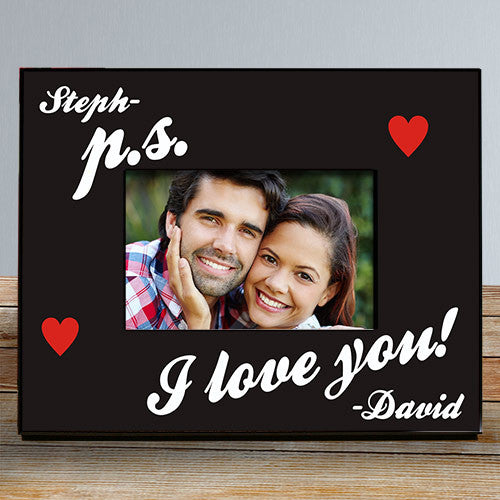 P.S. I Love You Personalized Frame