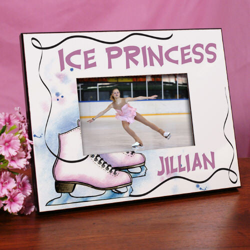 Personalized Ice Skating Frame