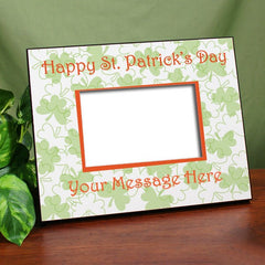 Happy St. Patrick's Day Personalized Frame