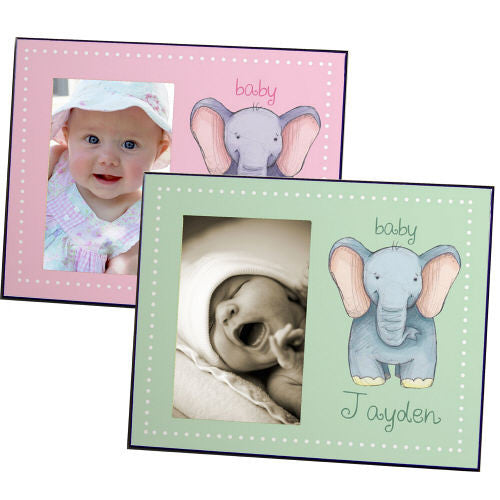 Baby Elephant Picture Frame (Boy & Girl Designs)