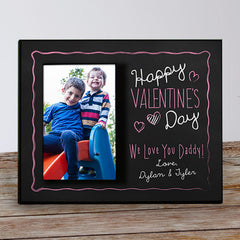 Happy Valentine's Day Custom Frame