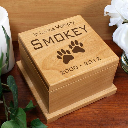 Engraved In Loving Memory Pet Urn