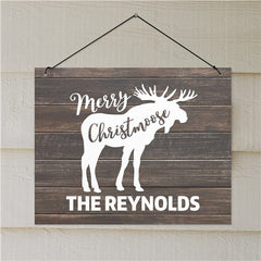 Personalized Christmas Sign