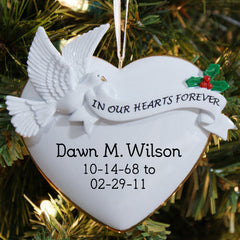 In Our Hearts Ornament