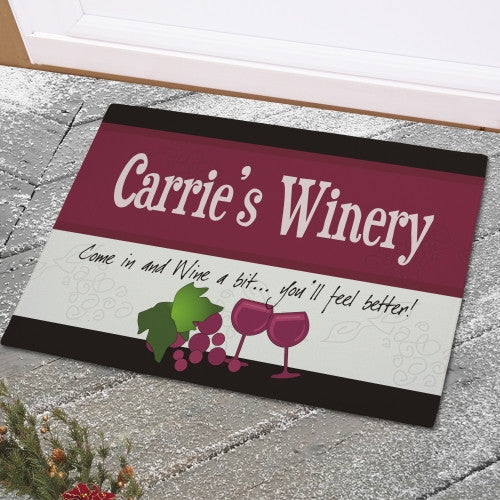 Winery Doormat