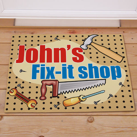 Fix-it Shop Doormat
