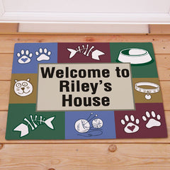 Kitty's House Doormat