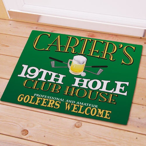 19th Hole Clubhouse Doormat