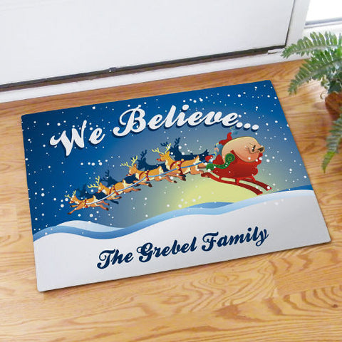 We Believe Doormat