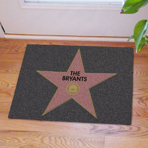 Walk of Fame Star Doormat