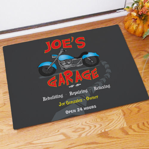 Delicieux His Garage Doormat