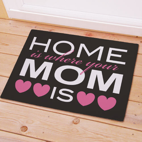 Home Is Where Mom Is Doormat