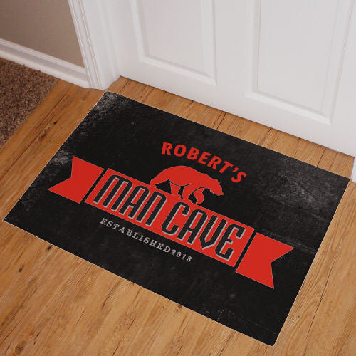 Bear Man Cave Doormat