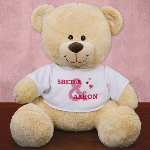 Ampersand Personalized Teddy Bear- 3 sizes