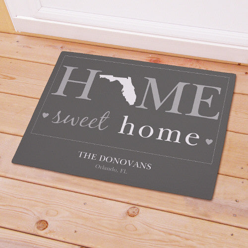 Home State Welcome Mat
