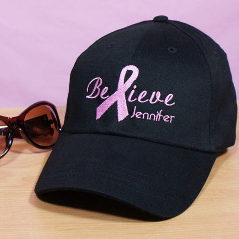 Embroidered Believe Hat
