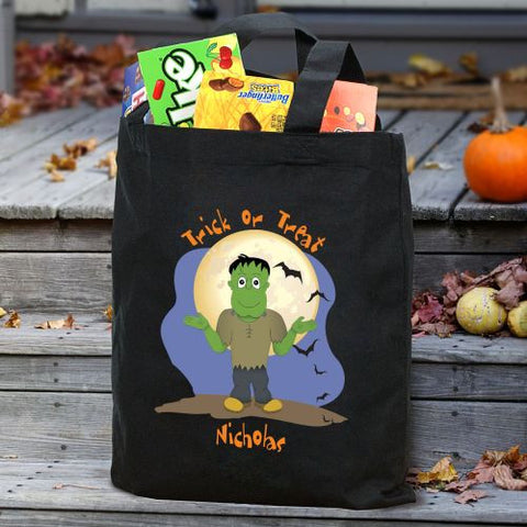 Halloween Character Personalized Treat Bag- 6 designs