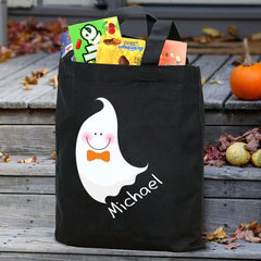 Halloween Ghost Personalized Treat Bag