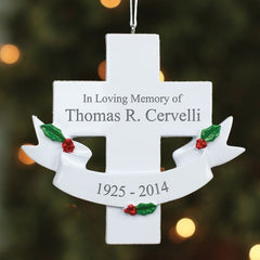 In Loving Memory Cross Ornament