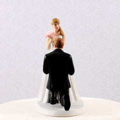 "A ""Cinderella Moment"" Bride & Groom Figurine"