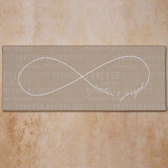 Infinity Symbol Canvas- more colors