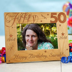 50th Birthday Frame